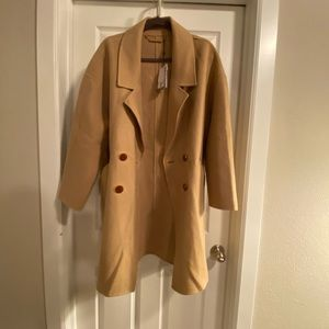 DVF Roma Cocoon Coat size L